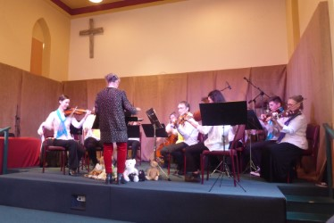 Photo of the south coast chamber orchestra.